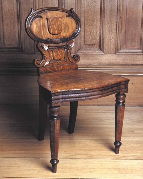 Chair designed by Sir William Playfair