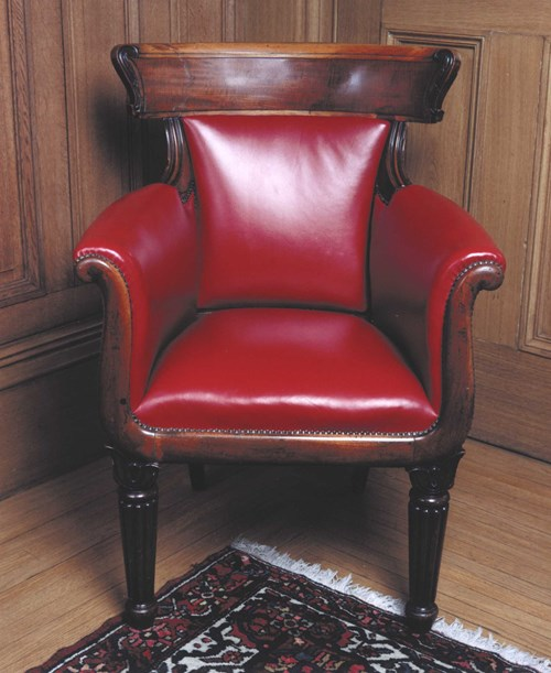 President's armchair by Playfair, 1832