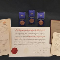Pfister Documents and Medals