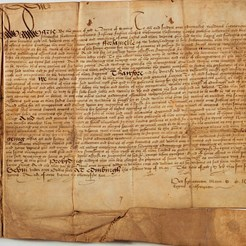 Mary Queen of Scots Letter of Exemption, 1567