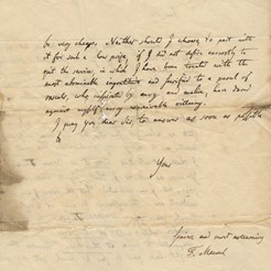 Johann Friedrich Meckel to John Thomson, Jan 1821 (RCSEd 9/1/1/1/1) 2