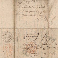 Meckel to John William Turner, Feb 1822 (RCSEd 9/1/1/1/5)