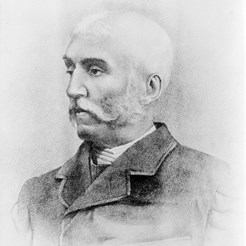 Portrait of Henry Carter (CREDIT: Wellcome Library)