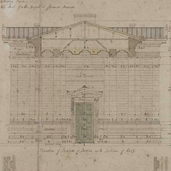 Eastern elevation, RCSEd 8/2/2/4