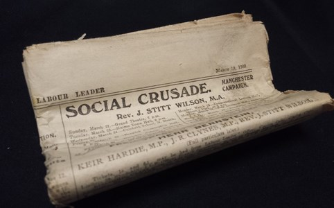 The Labour Leader: A Weekly Journal of Socialism, Trade Unionism and Politics