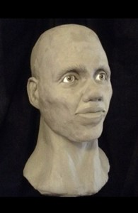 Reconstruction by Forensic Artist, Gillian Taylor