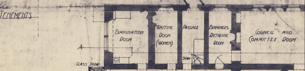 Playfair Building ground floor plans 1908