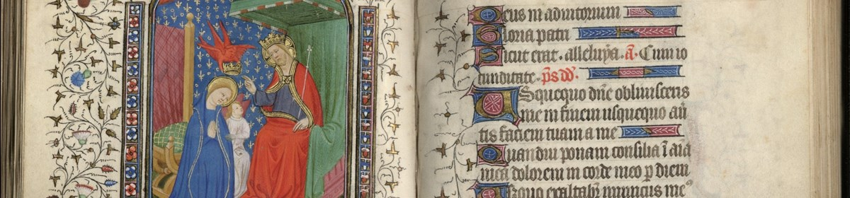 Detail of 15th Century Book of Hours