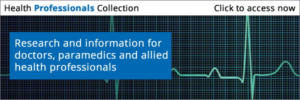 Click to access the Health Professionals journal collection